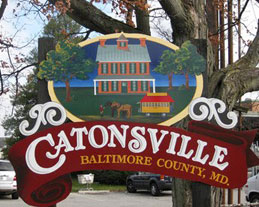 Catonsville Sign